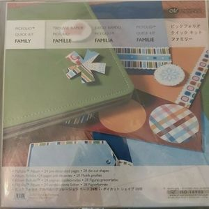 NEw Creative Memories Family scrapbook kit